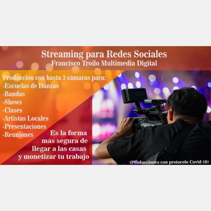 Streaming para redes sociales